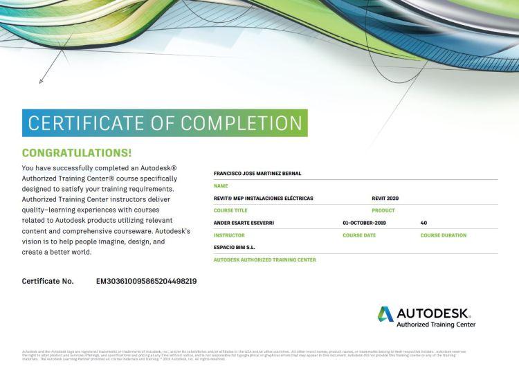 FRANK-ARK-Certificado-MEP-Instalaciones Eléctricas